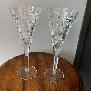 Vintage Waterford crystal wine goblets